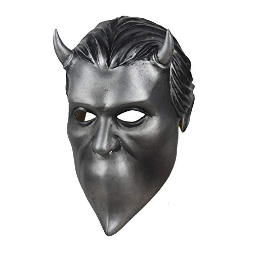 Moniku Nameless Ghouls Mask Deluxe Latex Ghost Band Mask Cosplay Props -