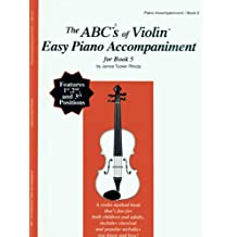 ABC22 - The ABCs of Violin Easy Piano Accompaniment for Book 5