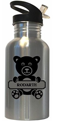 rodarte-surname-bear-stainless-steel-water-bottle-straw-top