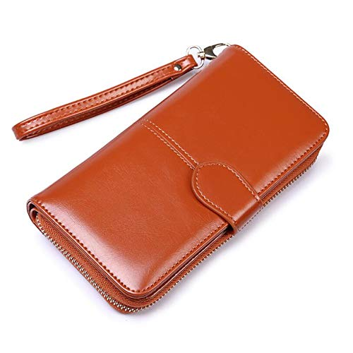 Amazon.com: LooBooShop Women Vantage Wallet Long Wallet Retro Phone Pouch Zipper Female Clutch Purses Large Capacity Wallets Carteras: Kitchen & Dining