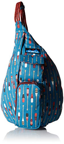 (KAVU Women's Mini Rope Bag Outdoor Backpacks, One Size, Row House)