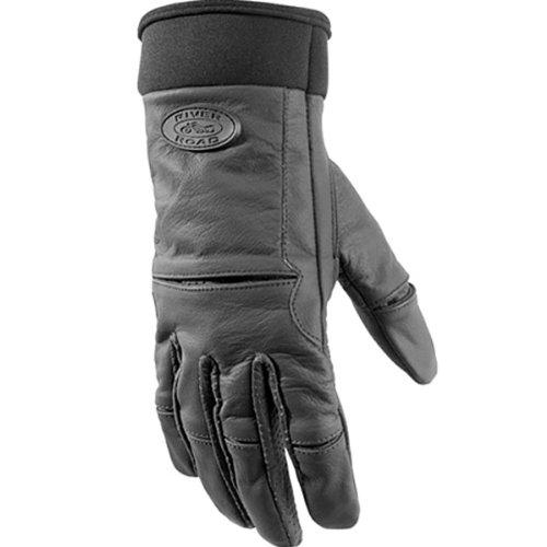 River Road Women's Chisel Gloves (MEDIUM) (MATTE BLACK)