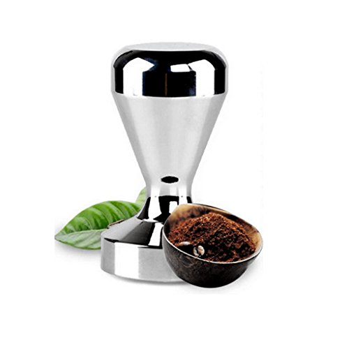 MagiDeal Black Coffee Knock Box Handled Bucket Espresso Grinds Waste Bin With Tamper