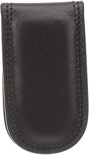 Bosca Men's Dolce Collection Money Clip (Black)