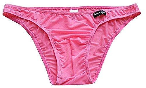 TESOON Men's Sexy Thin Micro Modal Air Bikinis ()