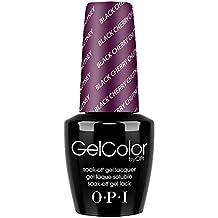 OPI Gelcolor Nail Polish, Black Cherry Chutney, 0.5 Ounce
