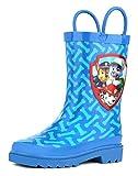 Paw Patrol Boys Blue Rain Boots - Size 13 Little Kid