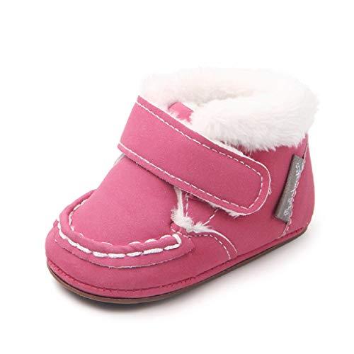 Niños Bebé De Botas Meses Para 18 Invierno Auxma Cuna 0 Por zapatos 6E0wHq