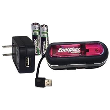 Energizer Duo Charger - Cargador (AA/AAA, Negro): Amazon.es ...