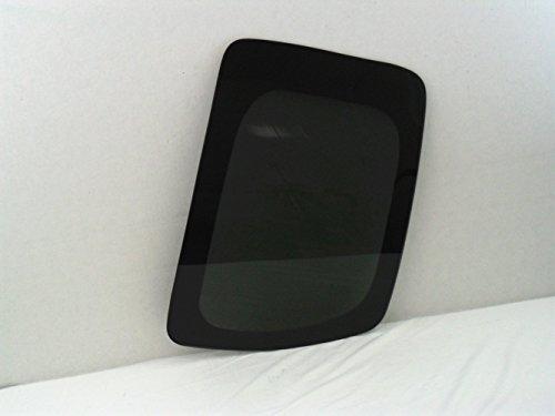 Left Quarter Glass Rear (2005-2016 Nissan Frontier 2 Door Extended Cab Driver Side Left Rear Quarter Glass)