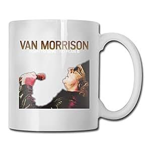 Amazon.com: Van Morrison - Taza de cerámica brillante con ...