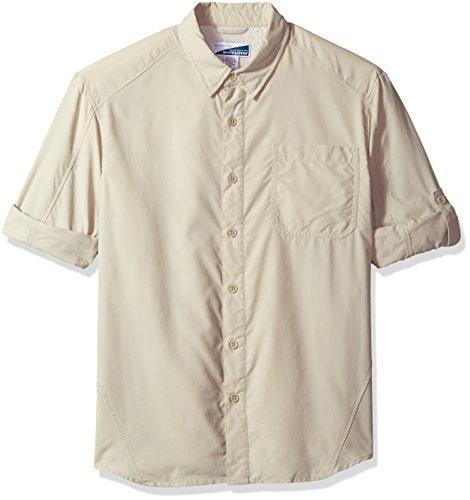 White Sierra Men's Bug Free Sanibel II Long Sleeve Shirt, XX-Large, sand