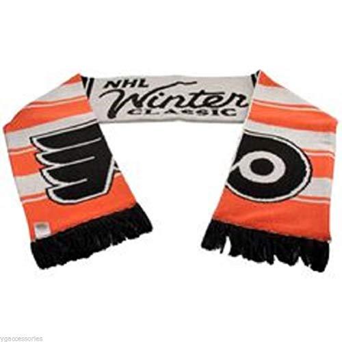 NHL Reebok Philadelphia Flyers 2011 NHL Winter Classic Scarf - Orange-Black