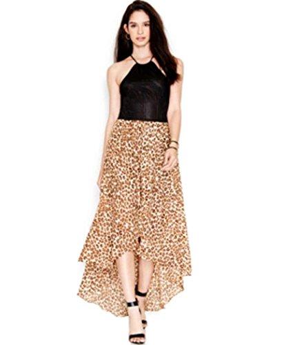 Guess-Womens-Pointelle-Hi-Low-Maxi-Dress-Tan-M