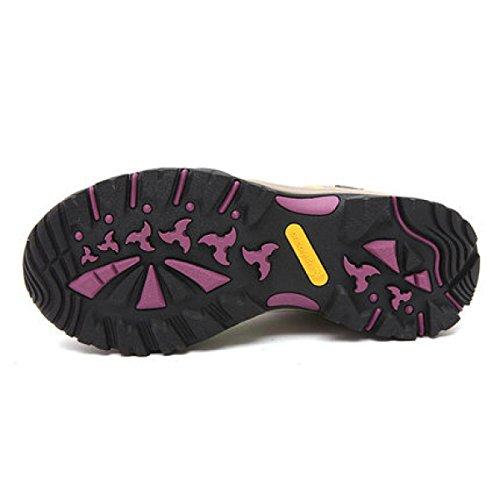 La Sra Temporadas CHT Zurriago De Los Zapatos De Trekking Impermeables Al Aire Libre Red