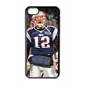 New England Patriots iPhone 5c Cell Phone Case Black 218y3-105178