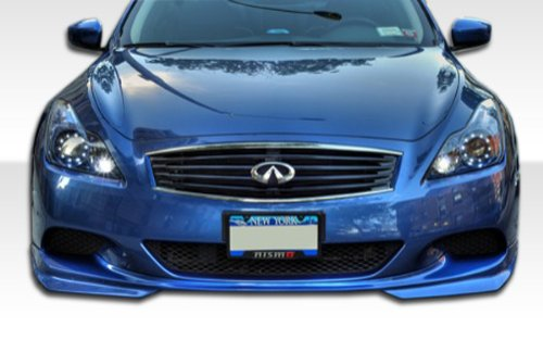 Duraflex Replacement for 2008-2015 Infiniti G Coupe G37 J-Spec Front Lip Under Spoiler Air Dam (sport model) - 1 Piece