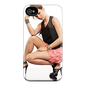 Tpu Shockproof/dirt-proof Date Nightnactress Leighton Meester Cover Case For Iphone(4/4s)