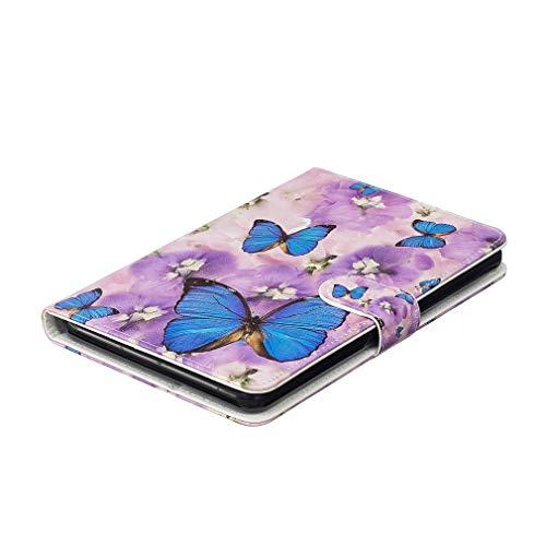 Card HD Cover Smart Case Ultra of Flower Pattern 1 Auto Slot Foldable LMFULM 2017 Peacock Inch Leather 2016 Bookstyle Case Thin PU for Fire 10 Closure Color 7 Amazon Wake 10 with Functio Sleep Magnetic ISdxpF