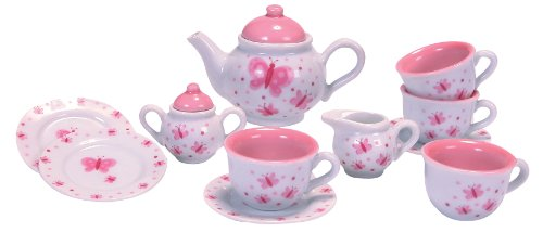 Schylling Butterfly Porcelain Tea -