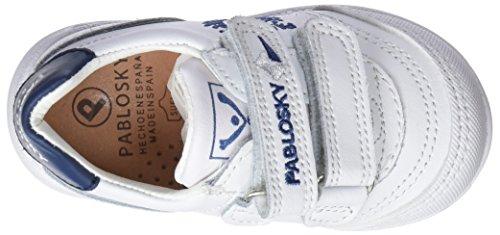 Pablosky 267802, Zapatillas Unisex Niños Blanco (Blanco 267802)