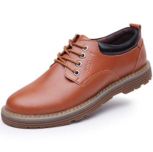 Herbst Und Winter Herren England Mode Freizeit Herrenschuhe Business Anzüge Schuhe Yellow