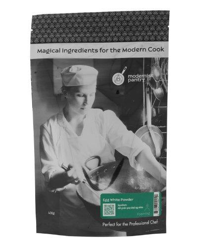 AAA Grade Egg White [Albumen] Powder ⊘ Non-GMO ✡ OU Kosher Certified (Molecular Gastronomy) - 400g/14oz (Grade Eggs)