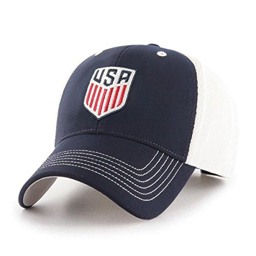 World Cup Soccer United States Sling OTS All-Star Adjustable Hat, Navy-US Men's Team, One - Team Hat
