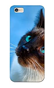 39dfdd13128 Snap On Case Cover Skin For Iphone 6 Plus(cats Blue Eyes Animals Siamese She )/ Appearance Nice Gift For Christmas