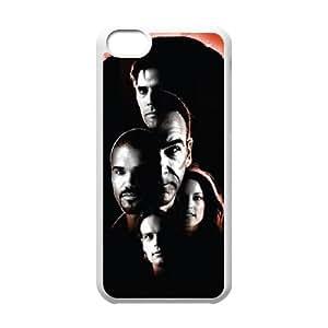 Criminal Minds iPhone 5c Cell Phone Case White TPU Phone Case SV_179980