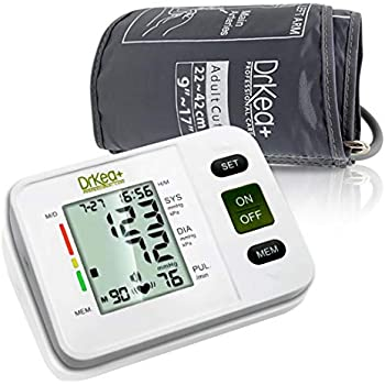 Blood Pressure Monitor Upper Arm - Fully Automatic Blood Pressure Machine Large Cuff Kit - Digital BP Monitor for Adult, Pregnancy - Blood Pressure Kit for ...