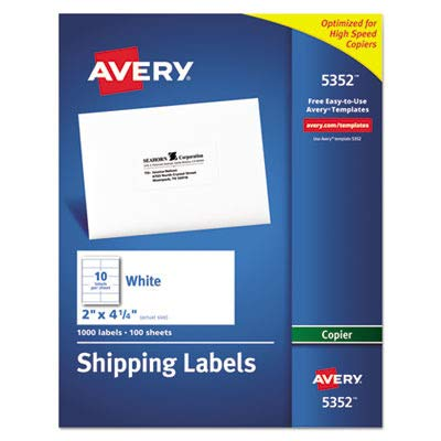 AVE5352 - Avery Copier Mailing Label