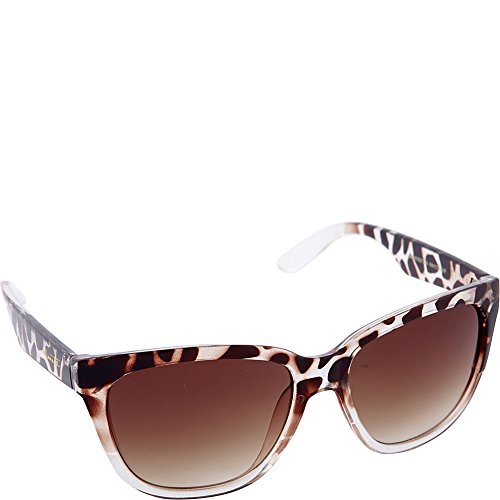Nanette Nanette Lepore Sunglasses Rectangle Retro Sunglasses (Animal - Lepore Sunglasses Nanette By