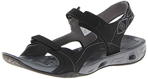 Columbia Womens Seneca Lake Sandal Athletic Shoes Black Charcoal PR34l