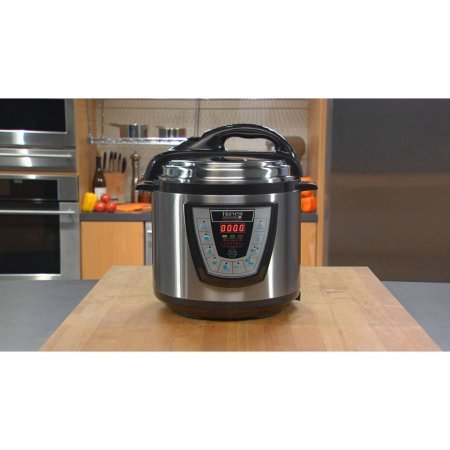 Cheap Harvest Cookware Electric Original Pressure Pro 6-Quart Pressure Cooker, Black