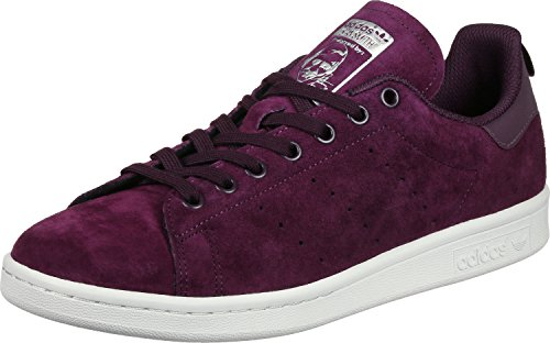 Wine Sneakers Bianco Smith adidas Stan Y4BIwdUq