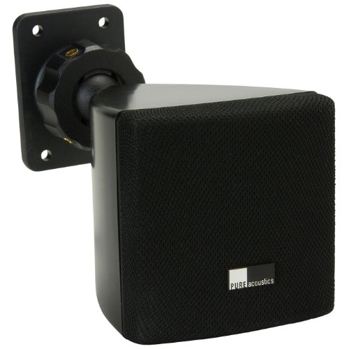 Pure Acoustics HT770 BL Mini Cube Speaker (Black)