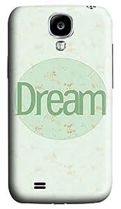 Samsung Galaxy S4 I9500 Hard Case - Green Dream Galaxy S4 Cases