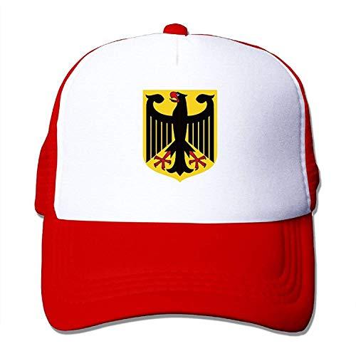 Germany Federal Eagle Youth Mesh Baseball Cap Summer Adjustable Trucker Hat