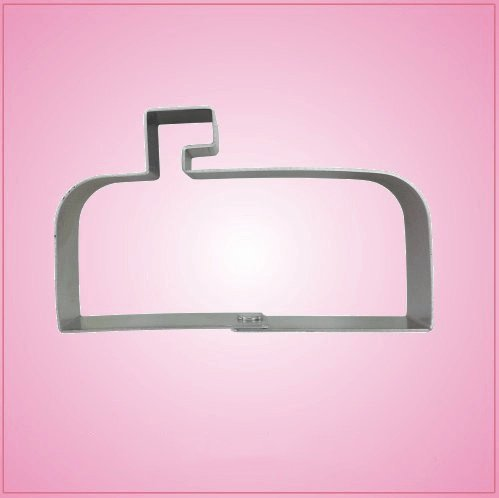 Mailbox Cookie Cutter 2-1/4?inches tall, 3-1/2 inches wide aluminum (Best Cookies By Mail)