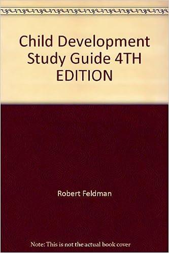 Amazon. Com: child development (4th edition) (9780131732476.