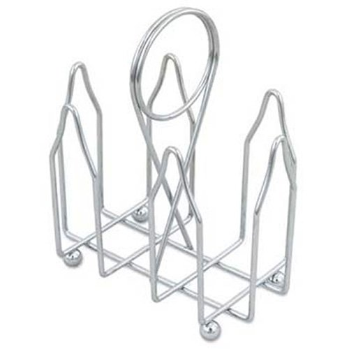 Browne (177) Chrome-Plated Wire Sugar Pack Holder (Holder Packet Wire Sugar)