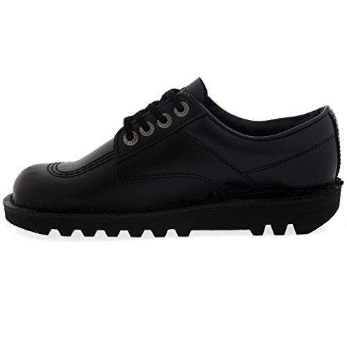 Kvinnor Kickers Sparka Lo Klassiska Läder Boots Kontorsarbetsskor Svart