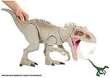 Mattel España, S.A. Figura Dinosaurio Jurassic World Indominus Rex Dino-Destructor: Amazon.es: Juguetes y juegos