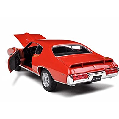 Pontiac GTO Judge, orange , 1969, Model Car, Ready-made, Motormax 1:24: Toys & Games