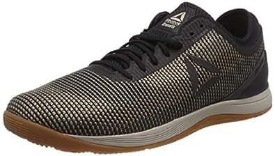 Reebok Men's Crossfit Nano 8 Flexweave Crossfit Shoes, Parchment/Sand Beige/Black/Reebok Rubber Gum, 7 US