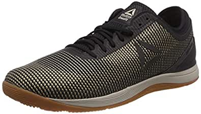 Reebok Men's Crossfit Nano 8 Flexweave Crossfit Shoes, Parchment/Sand Beige/Black/Reebok Rubber Gum, 7 US
