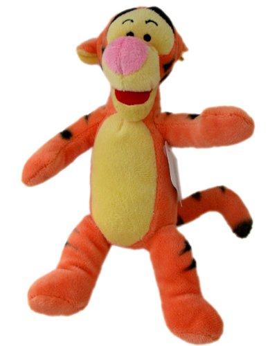 Amazon.com  Disney Tigger Stuffed Animal - Tigger Beanie Plush -9in ... 319cec0e6b9