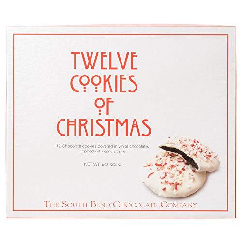 Twelve Cookies of Christmas White Chocolate 9 ounce Christmas Boxed Cookies