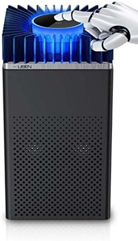Yxsd 蚊ランプ 光触媒蚊取り器、スマートミュート無放射線蚊取り器、USB蚊取り器家庭用蚊取り器5W (Color : Black)